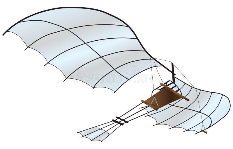 Vehículo del vuelo libre illustration