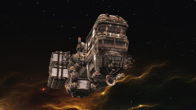 Vehículo espacial libre illustration