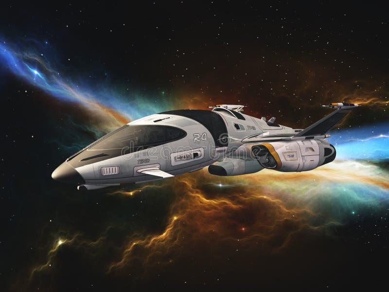 Vehículo espacial imágenes de archivo libres de regalías