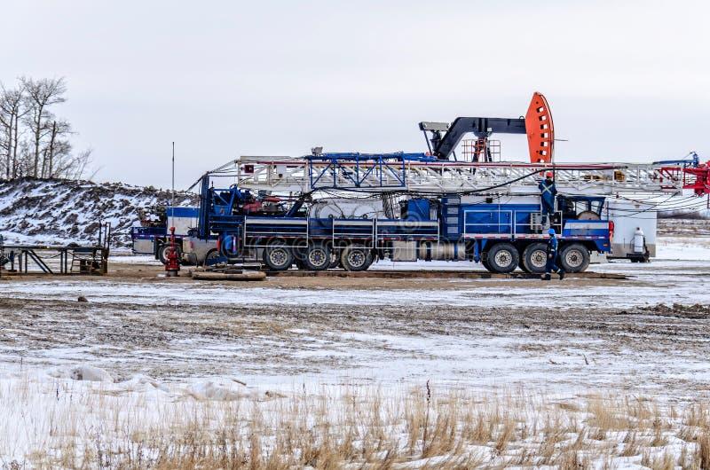 Vehículo para la industria de petróleo fotos de archivo libres de regalías