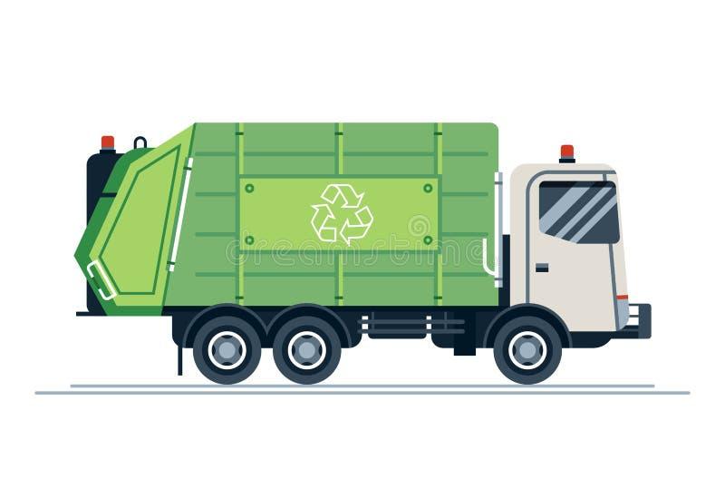 Vehículo sanitario urbano del vector fresco ilustración del vector