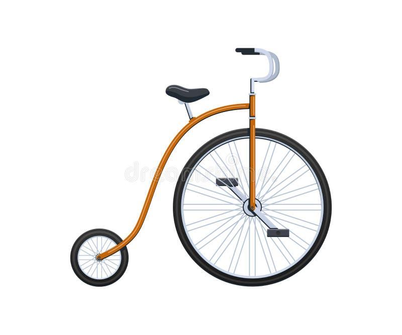 Vehículos del circo del verano, transporte, bicicletas de la ciudad, viaje y paseos modernos libre illustration
