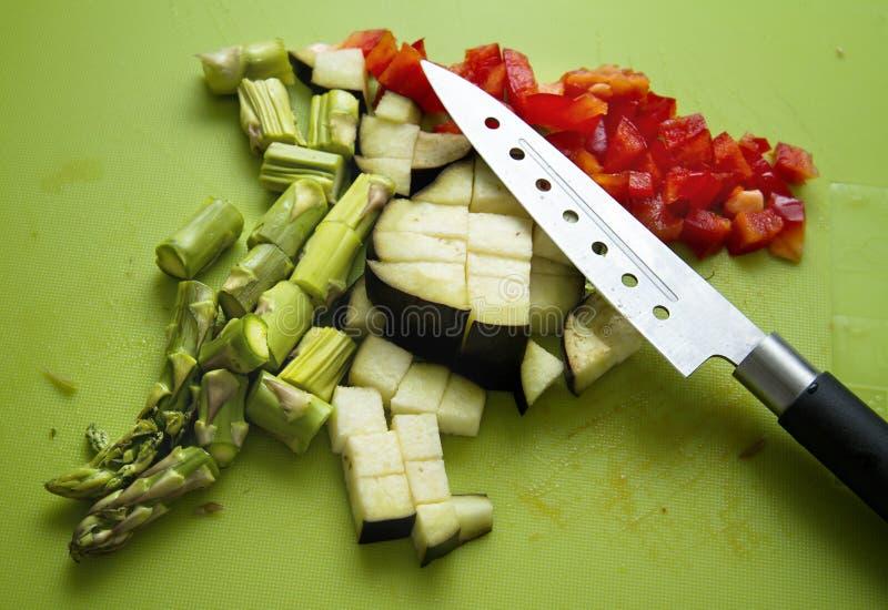 Vehículos y cuchillo imagen de archivo libre de regalías