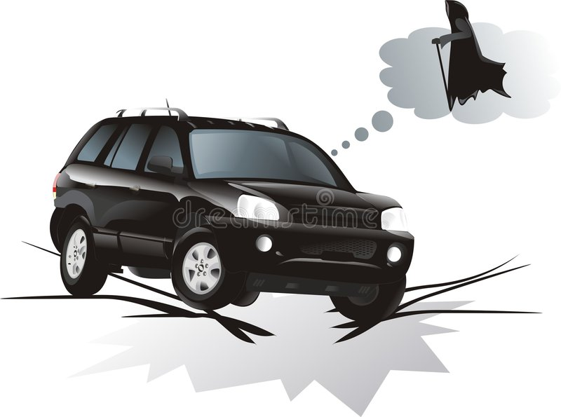 The vehicle vector illustration