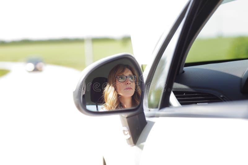 Vehicle breakdown royalty free stock photography