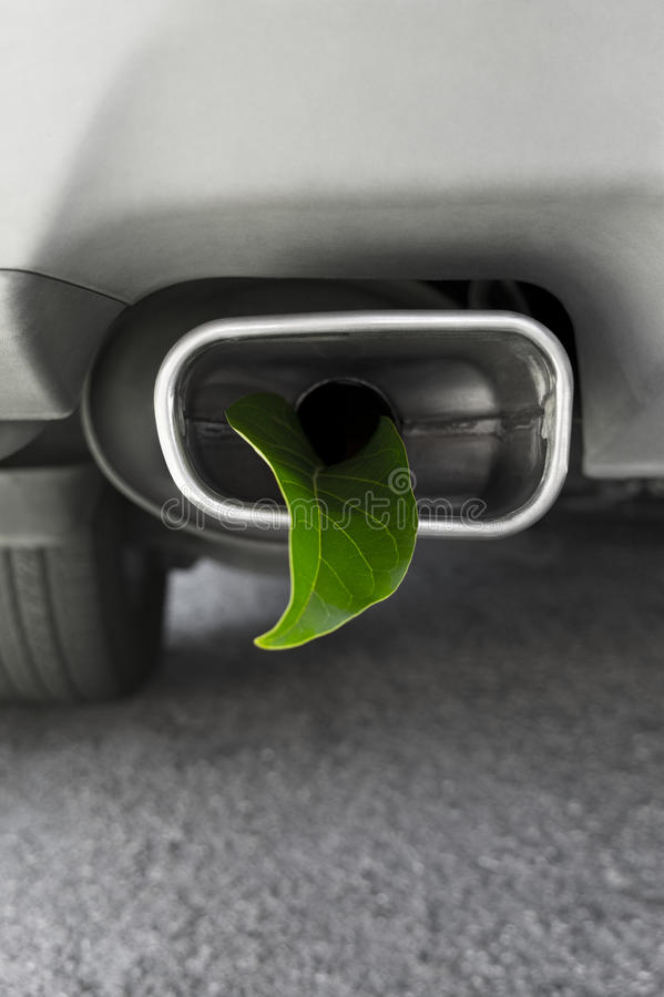 Vehicle Greenhouse Gas Emissions royalty free stock images