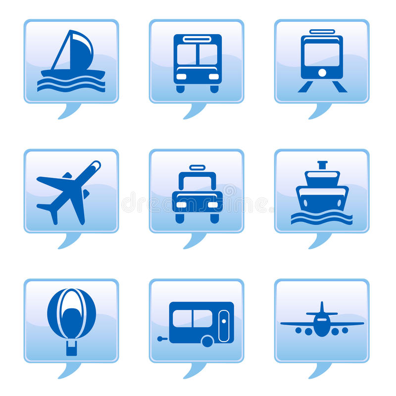 Vehicle icons vector illustration