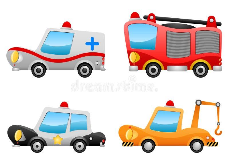 Vehicle illustrations vector