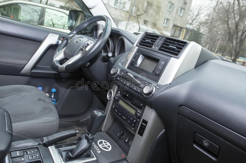 Vehicle interior. royalty free stock images