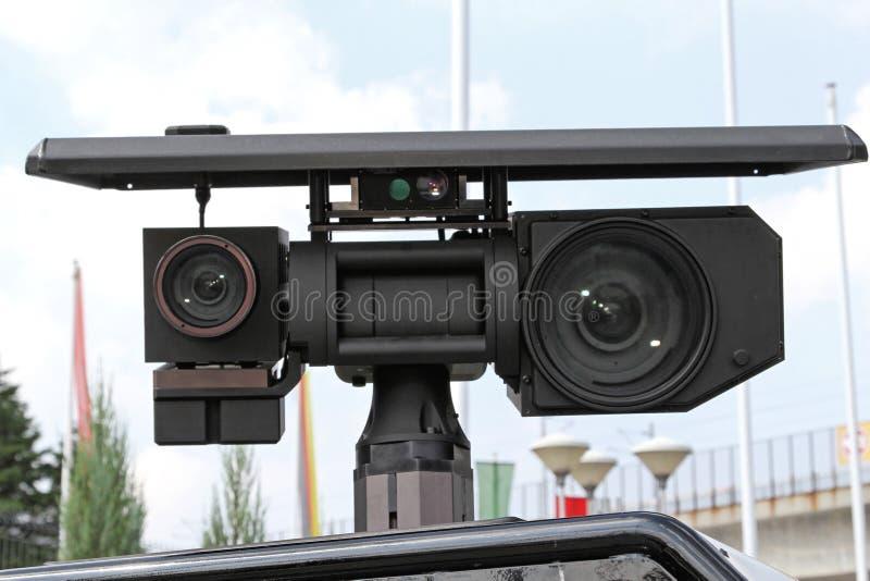 Vehicle Mounted Surveillance royalty free stock photos