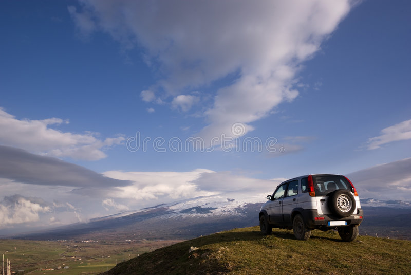 Vehicle off-road royalty free stock image
