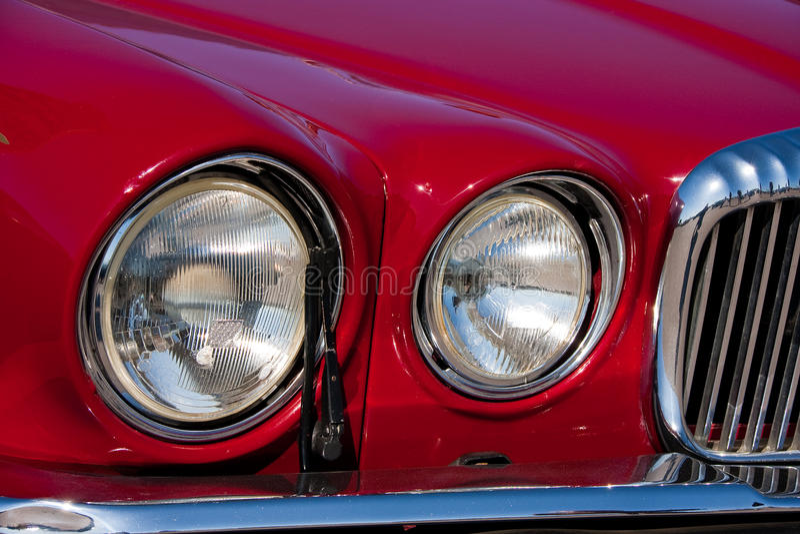 Vehicle's headlight royalty free stock photos