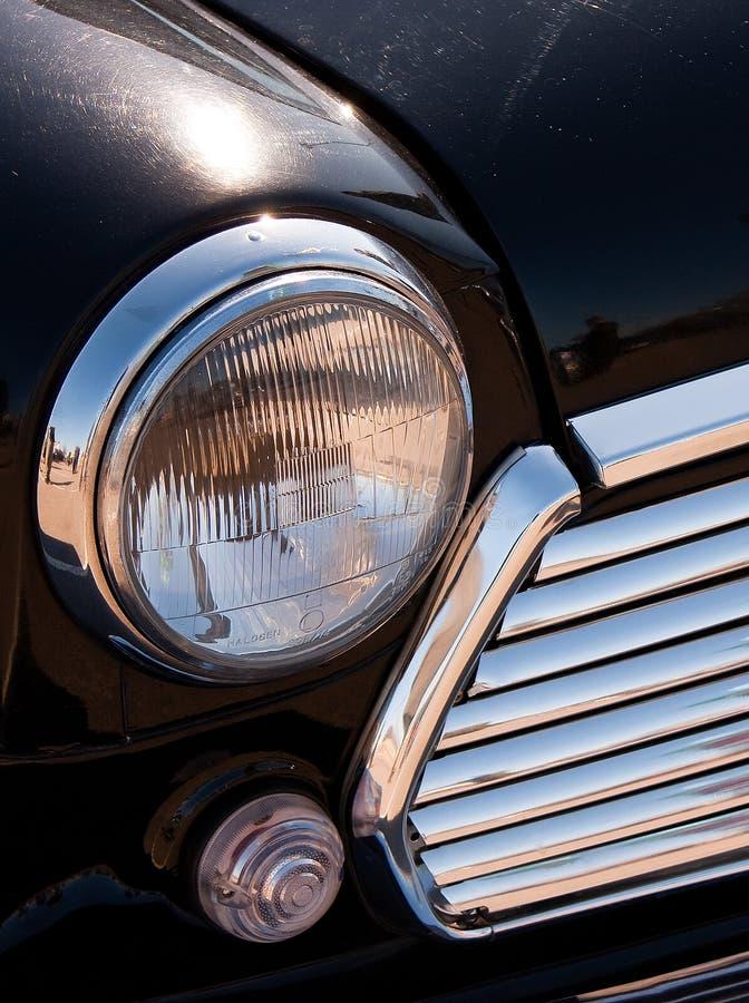 Vehicle's headlights stock photo