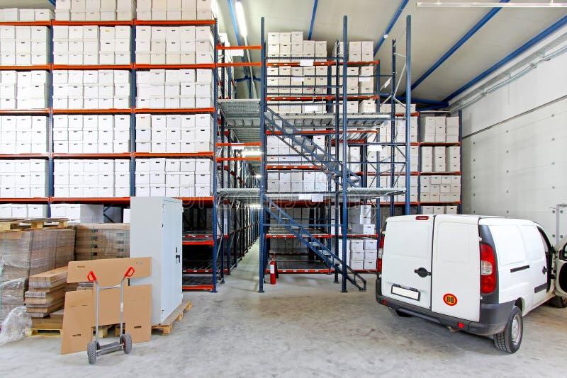 Vehicle in storage royalty free stock image