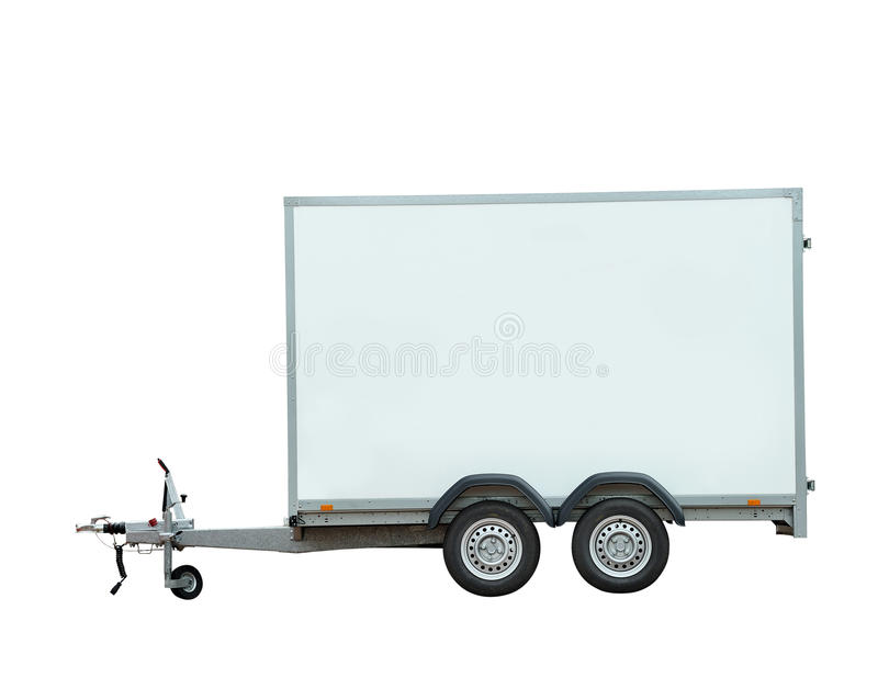 Download Vehicle trailer stock photo. Image of isolated, office - 24736278