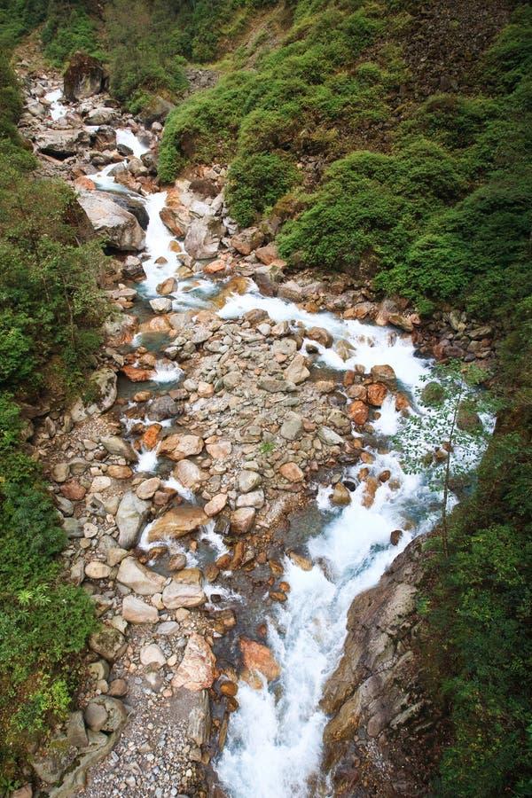 Veia do rio da montanha fotos de stock royalty free