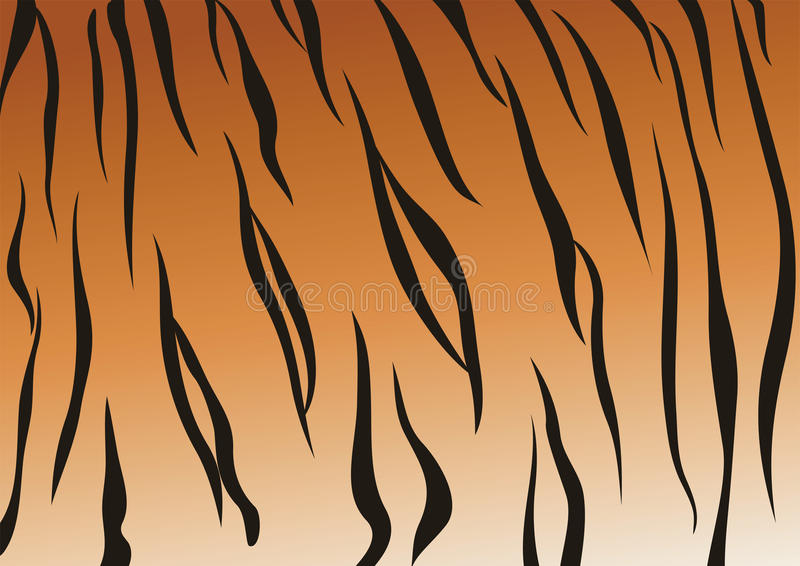Veias Do Tigre Foto de Stock Royalty Free