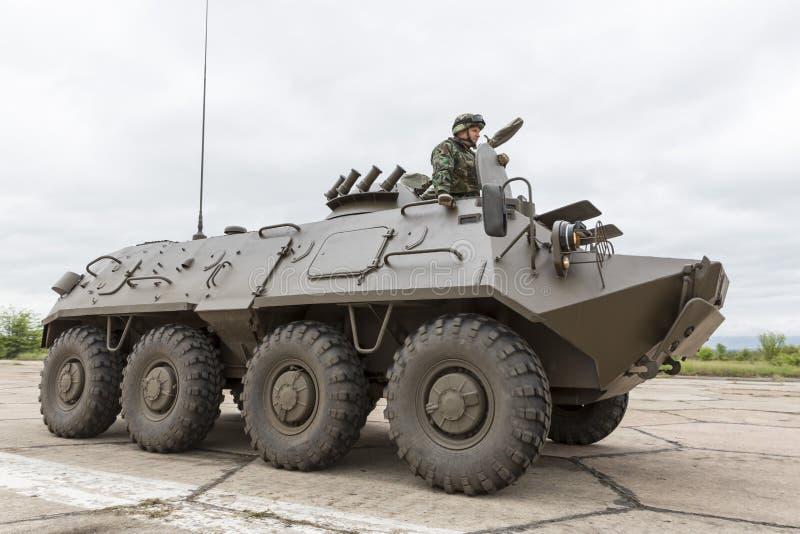 Veicolo corazzato per il combattimento della fanteria Stryker immagini stock libere da diritti