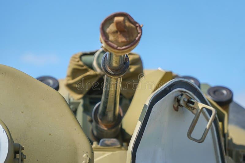 Veicolo da combattimento della fanteria della pistola fotografia stock