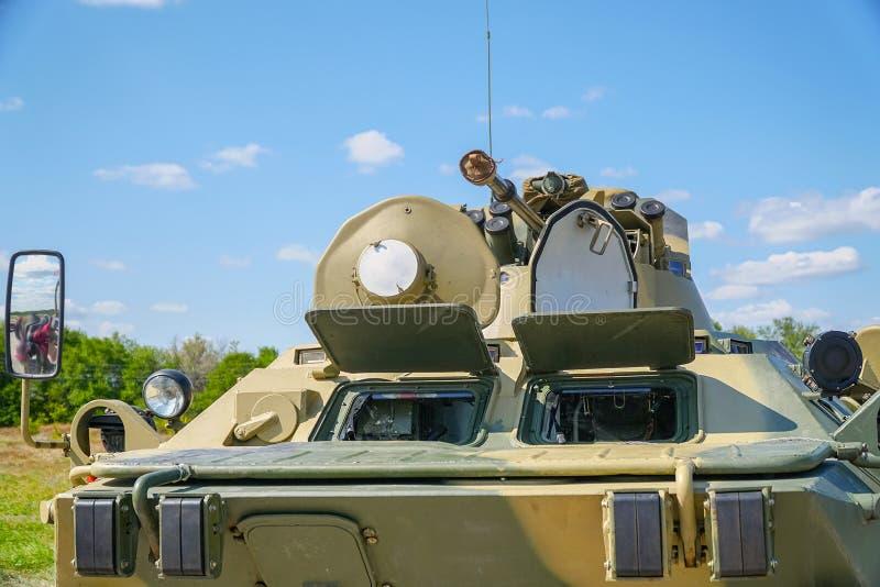 Veicolo da combattimento della fanteria della pistola immagine stock