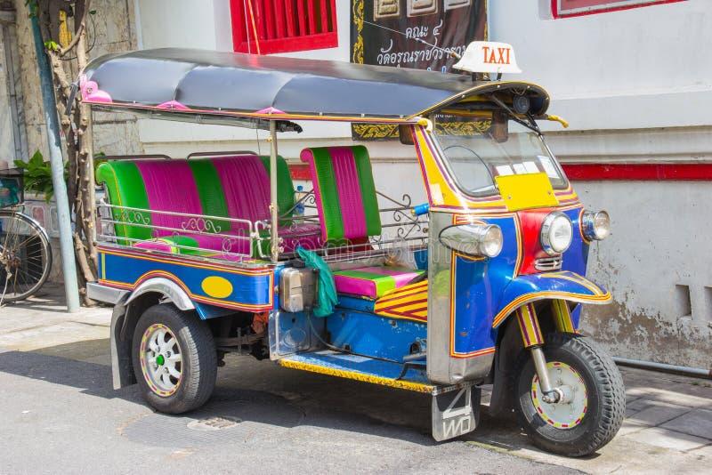 Veicolo del taxi di Tuk-Tuk urbano fotografie stock