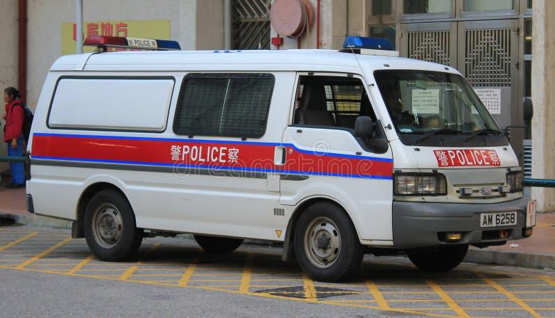 Veicolo di polizia a Hong Kong