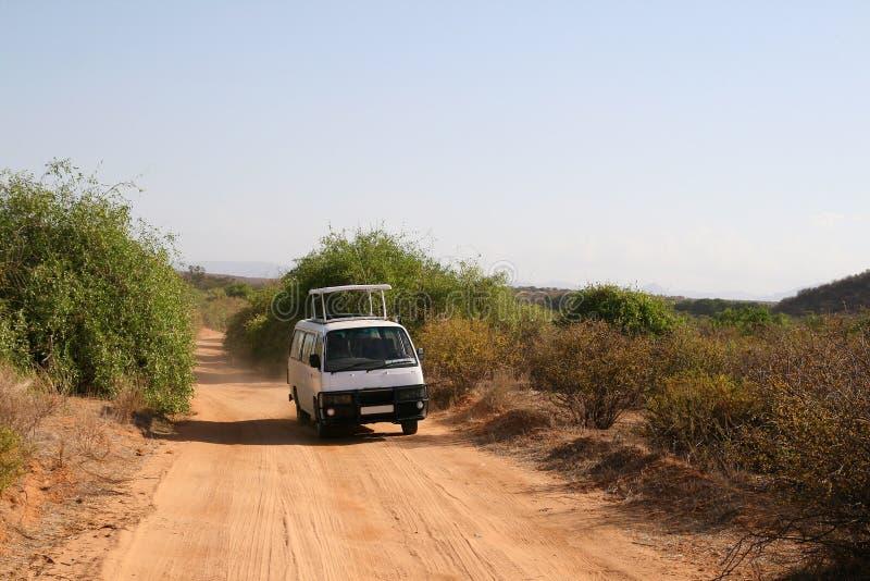 Veicolo di safari fotografia stock