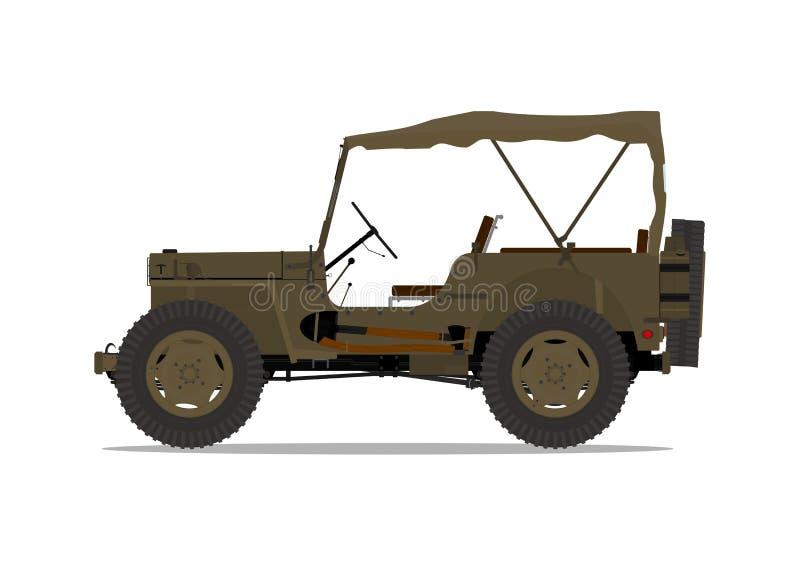 Veicolo militare illustrazione di stock