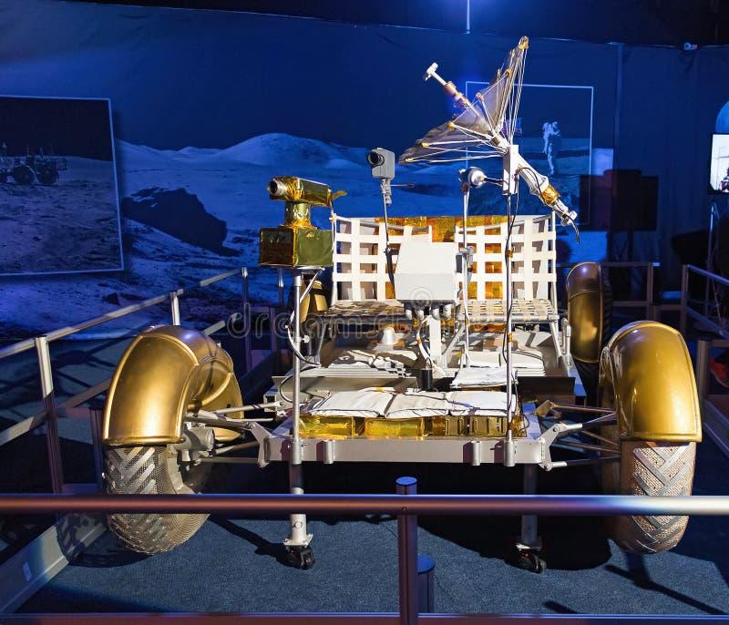 Veicolo nomade lunare immagine stock libera da diritti