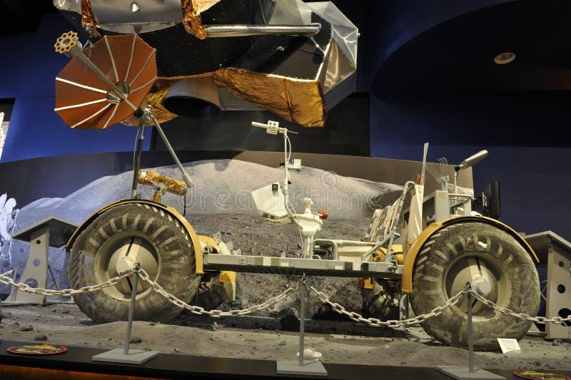 Veicolo nomade lunare dell'Apollo fotografia stock libera da diritti