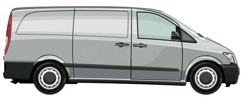 Veicolo utilitario chiaro illustrazione vettoriale