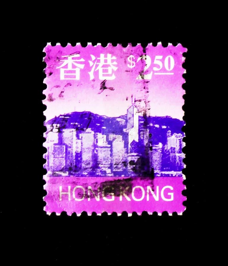 Veilchen von Hong Kong, serie, circa 1997 lizenzfreie stockbilder