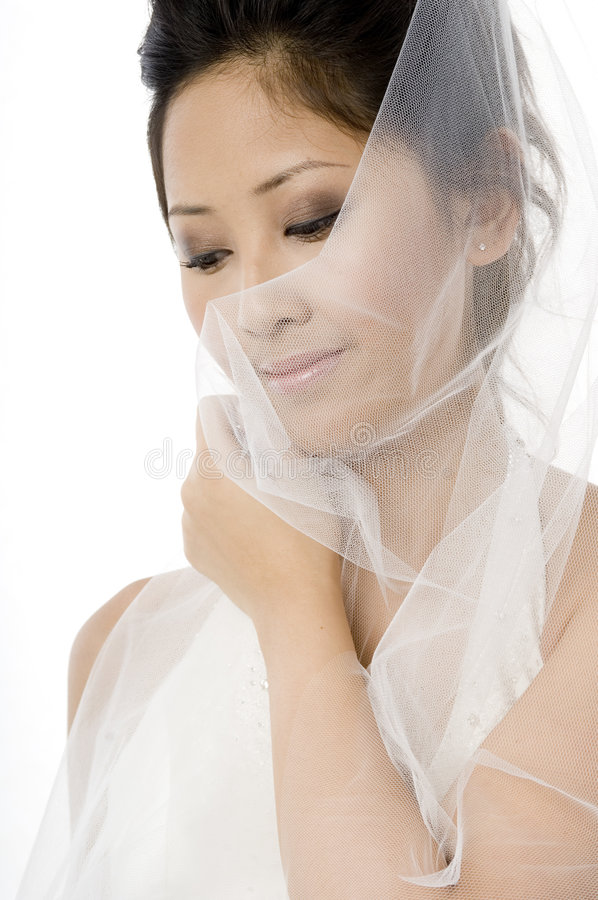 Download Veiled Bride Stock Image - Image: 2302271