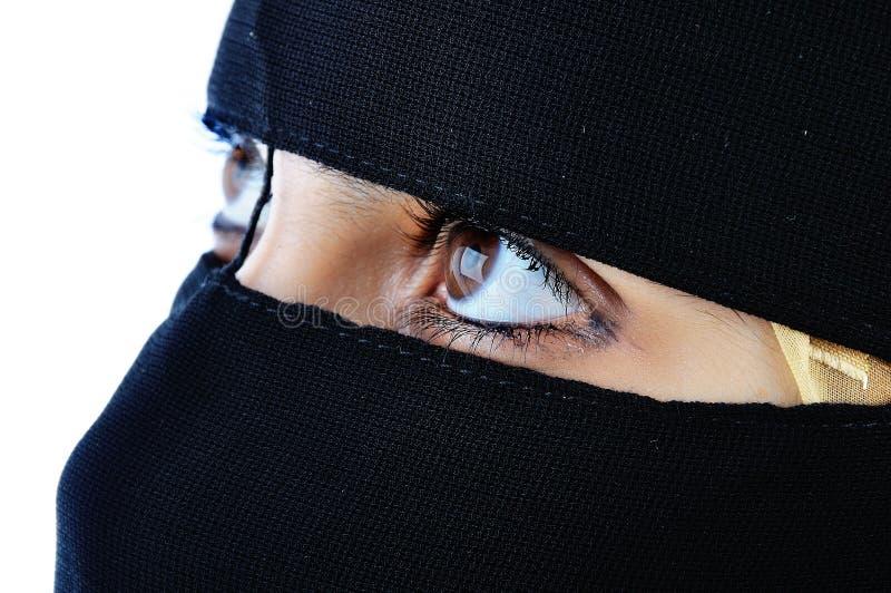Veiled Woman Royalty Free Stock Image