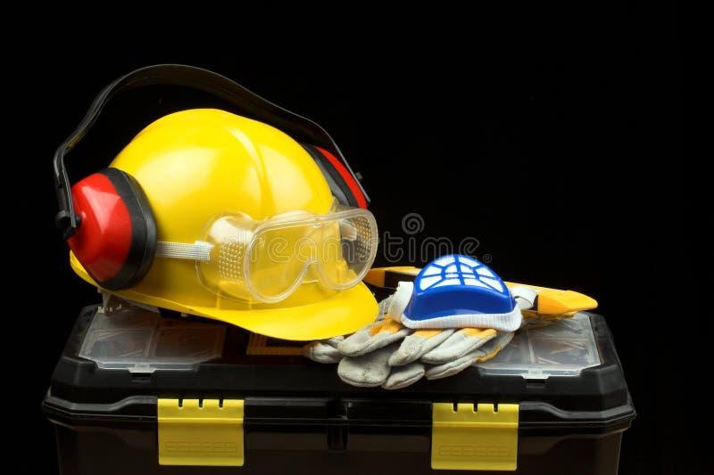 Download Veiligheid stock afbeelding. Afbeelding bestaande uit oorbeschermer - 10780553