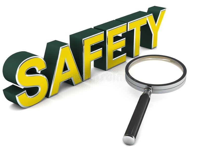 Veiligheid vector illustratie