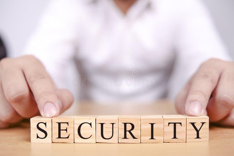 Veiligheid, het Motievenconcept van Bedrijfswoordencitaten royalty-vrije stock afbeelding