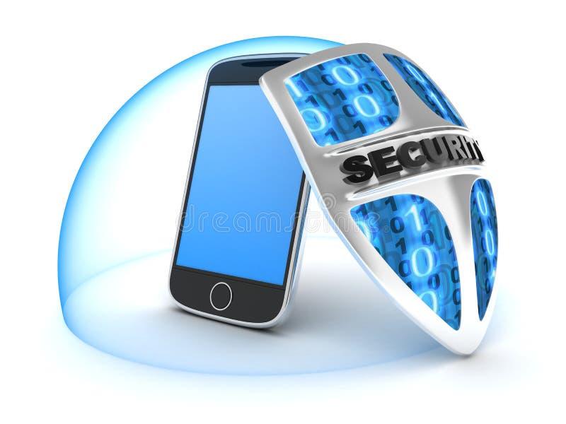 Veiligheid PDA vector illustratie