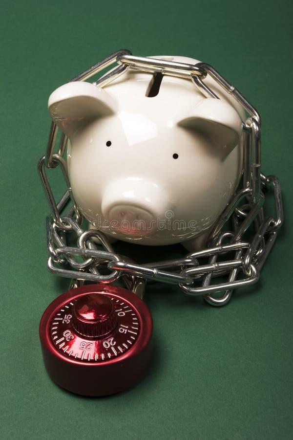Veiligheid van uw besparingen stock foto's