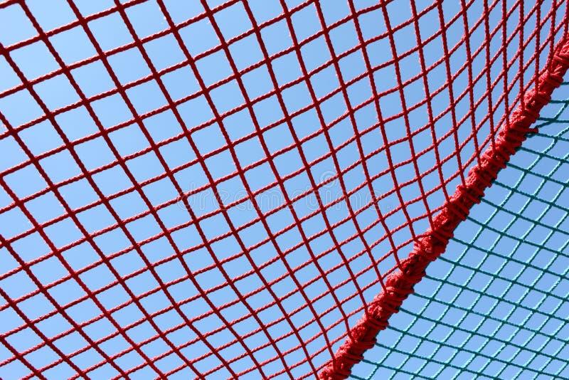 Veiligheids rode netto stock afbeelding