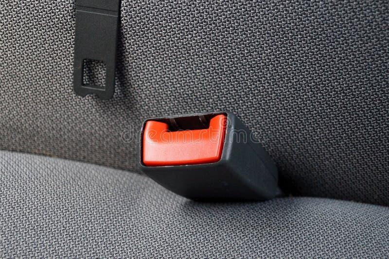Veiligheidsgordel in een auto royalty-vrije stock foto