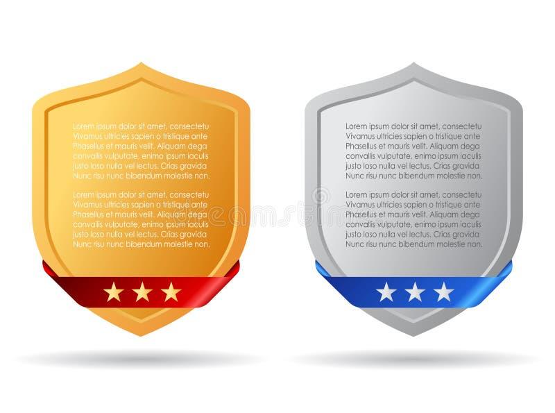 Veiligheidsinformatie vector illustratie