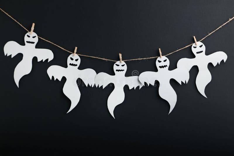 Veille de la toussaint ghosts images libres de droits