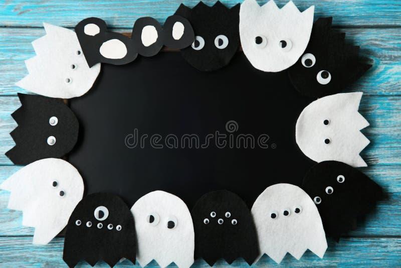 Veille de la toussaint ghosts photo stock