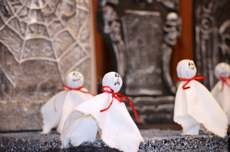 Veille de la toussaint ghosts photographie stock