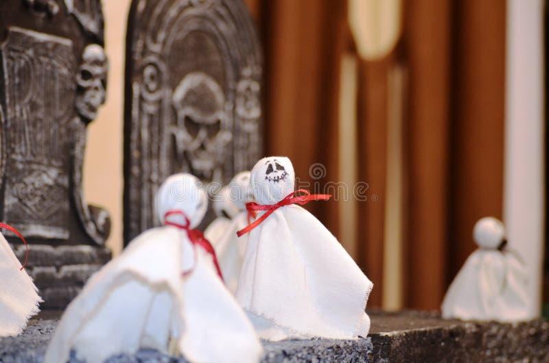 Veille de la toussaint ghosts photos stock