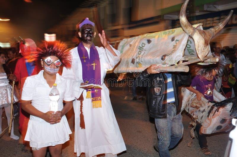 Veille de la toussaint San Agustin - en Colombie photographie stock libre de droits