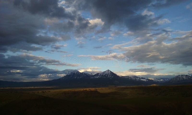 Veiw de la montaña imagen de archivo