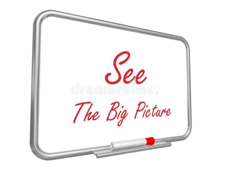 Veja a imagem grande ilustração do vetor