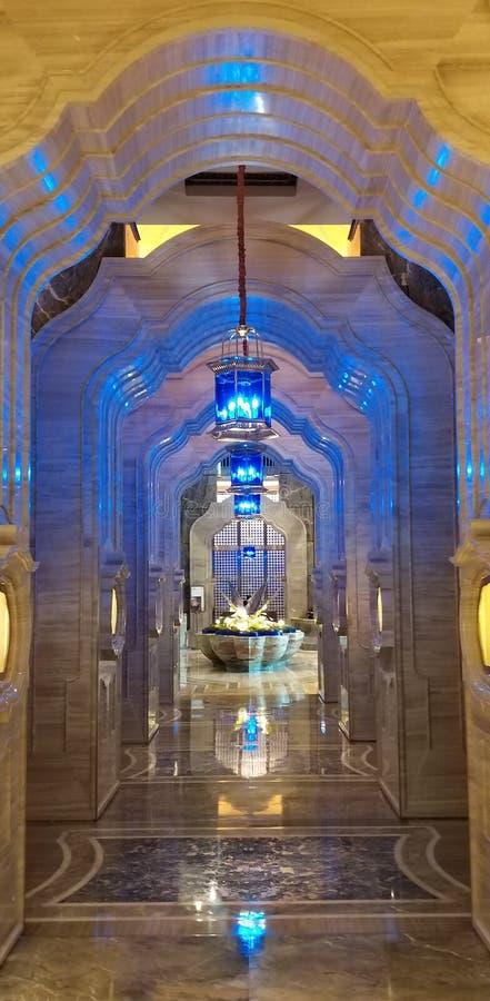 Veja o estilista de Médio Oriente arquitetónico em Macau fotografia de stock royalty free